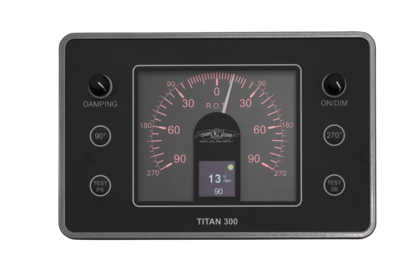 TITAN 300 Rate of turn display unit 90⁰-270⁰